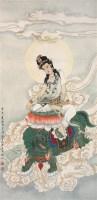 佛像 镜片 纸本 -  - 中国书画 - 2011中国艺术品拍卖会 -收藏网