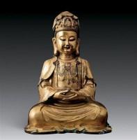 清鎏金观音铜像 -  - 中国古代工艺美术 - 2007年仲夏拍卖会 -收藏网