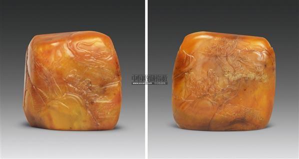 田黄石 -  - 中国玉器杂项专场 - 2011首届秋季拍卖会 -收藏网