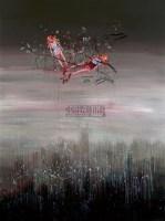 """《未来之树》2# 布面油画 - 赵光臣 - 中国首届""""前卫+现当代""""艺术家作品 - 2007年首届中国艺术品拍卖会 -收藏网"""