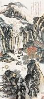 山水 立轴 纸本 - 116006 - 中国书画(一) - 2011春季艺术品拍卖会(一) -收藏网