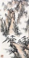 山水 立轴 - 116631 - 中国书画 - 2011金色时光文物艺术品专场拍卖会 -收藏网