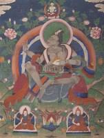 民国 大成就者唐卡 -  - 妙音天籁-佛教艺术品 - 2006年秋(十周年)拍卖会 -收藏网