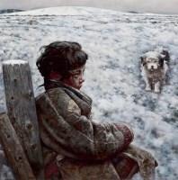 极远的歌声 布面  油画 - 艾轩 - 现代中国艺术 - 2006秋季拍卖会 -收藏网