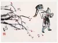 张培成 女孩 - 张培成 - 中国书画 - 2007年春季艺术品拍卖会 -收藏网