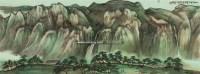 松壑云泉 镜心 设色纸本 - 2605 - 海上五大家专场 - 首届艺术品拍卖会 -收藏网