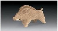 """""""拼命三郎""""雕塑 - 158246 - 中国当代名家陶瓷 - 2007秋季拍卖会 -收藏网"""
