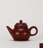 南孟臣款 朱泥水平壶 -  - 中国当代高端工艺品 - 2011年春季拍卖会 -收藏网