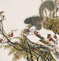 松鼠 - 孙奇峰 - 中国书画(二) - 第60期翰海拍卖会 -收藏网