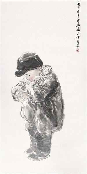 人物 镜片 - 5448 - 中国书画 - 2011年首屇艺术品拍卖会 -收藏网