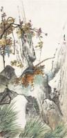 教子图 立轴 设色纸本 - 6986 - 中国书画(二) - 2011夏拍艺术品拍卖会 -收藏网
