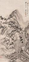 山水 立轴 水墨纸本 - 王时敏 - 中国古代书画 - 2007春季大型艺术品拍卖会 -中国收藏网