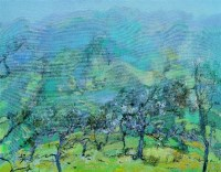 春色 布面 油画 - 133228 - 名家西画 当代艺术专场 - 2008年春季拍卖会 -中国收藏网
