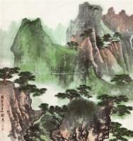 万壑松风 镜心 设色纸本 - 139818 - 海上五大家专场 - 首届艺术品拍卖会 -收藏网