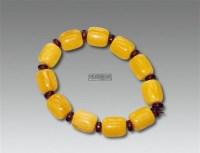 蜜蜡手串 -  - 古董珍玩 - 2012迎春艺术品拍卖会 -收藏网