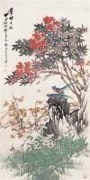 花鸟 立轴 设色纸本 - 118966 - 书画杂件 - 2007迎春文物艺术品拍卖会 -中国收藏网