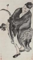 人物 立轴 设色纸本 - 116899 - 中国书画一 - 2011春季艺术品拍卖会 -收藏网