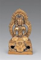 清乾隆 铜鎏金长寿佛像 -  - 妙音天籁-佛教艺术品 - 2006年秋(十周年)拍卖会 -收藏网