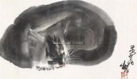 猫 镜心 设色纸本 - 7693 - 中国书画(二) - 2011春季艺术品拍卖会 -中国收藏网