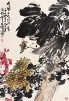花卉 镜心 - 刘昌潮 - 中国书画 - 第67期中国书画拍卖会 -收藏网