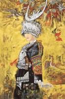 相思鸟 镜心 纸本 - 4695 - 中国书画 - 2011年秋艺术精品拍卖会 -收藏网