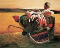 耿万义 冬天的草 布面油彩 - 耿万义 - 中国当代油画与水彩画 - 2006金秋艺术精品拍卖会 -收藏网