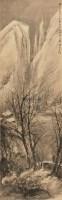杜甫诗意雪霁图 镜心 纸本 - 116002 - 中国书画(一) - 2011首届秋季艺术品拍卖会 -收藏网