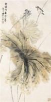 花鸟图 立轴 设色纸本 - 131055 - 中国书画 - 2011北京春季艺术品拍卖会 -收藏网