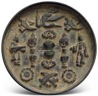 人物多宝镜 -  - 妙极神工 铜镜专场 - 2011秋季艺术品拍卖会 -中国收藏网