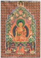 释迦千佛唐卡 -  - 佛像唐卡 - 2007春季艺术品拍卖会 -收藏网