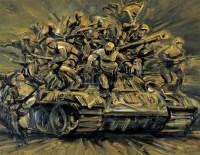 勇敢颂 布面 油画 - 戴都都 - 中国油画 - 2008年夏季拍卖会 -收藏网