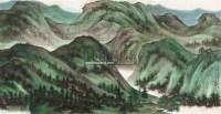 溪山无尽图 镜心 设色纸本 - 2605 - 海上五大家专场 - 首届艺术品拍卖会 -收藏网