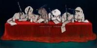 发言权 布面 油画 -  - 现当代中国艺术 - 5周年春季拍卖会 -收藏网