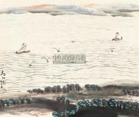 春江图 轴 - 132323 - 中国书画 - 2011年春季艺术品拍卖会 -收藏网