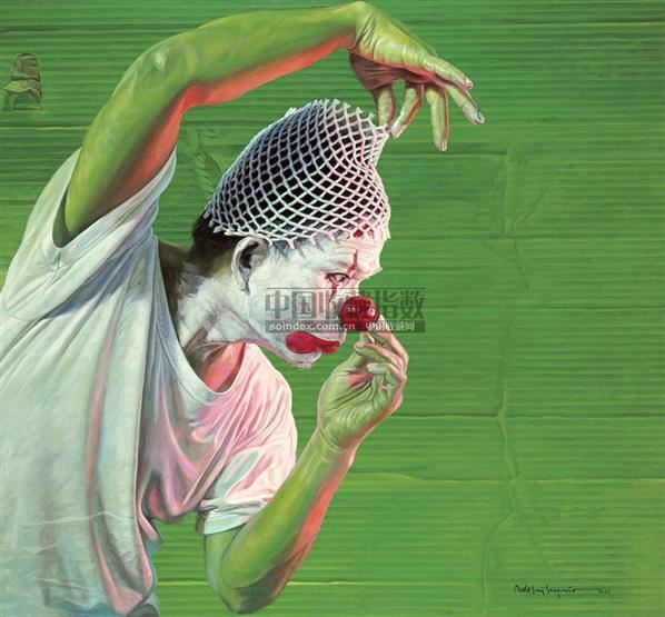 DEDE ERI SUPRIA Clown -  - 现代及当代东南亚艺术 - 2007春季艺术品拍卖会 -收藏网