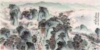 王维诗意 镜心 设色纸本 - 148930 - 中国书画(二) - 2009春季大型艺术品拍卖会 -收藏网
