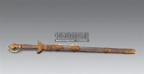 工艺品宝剑木质