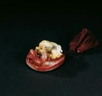 双螭把玩件 -  - 寿山石把玩、雕件专场 - 2011年秋季艺术品拍卖会 -中国收藏网
