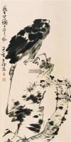 松鹰图 立轴 纸本 - 139807 - 中国书画 - 2011金秋艺术品大型拍卖会 -收藏网
