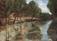 乡村 布面 - 颜文梁 - 中国油画 - 2006春季拍卖会 -收藏网