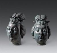 刘君 2005年作 仕女 铜 雕塑 - 62944 - 中国当代油画 - 2006首届中国国际艺术品投资与收藏博览会暨专场拍卖会 -收藏网
