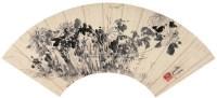 陈道复(1483-1544)菊石图 - 陈道复 - 中国书画 - 四季拍卖会(第57期) -收藏网