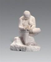 女人体 雕塑 - 152465 - 绍晋斋暨立派艺术中心藏中国油画、雕塑、水彩 - 2006冬季艺术品拍卖会 -收藏网