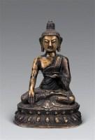 十九世纪 铜释迦牟尼佛像 -  - 妙音天籁-佛教艺术品 - 2006年秋(十周年)拍卖会 -收藏网