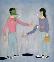 失去记忆的徒劳2005 布面 油画 - 王亚强 - 中国油画雕塑 - 2007秋季艺术品拍卖会 -收藏网