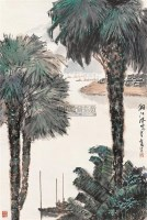 湘江风光 立轴 设色纸本 - 杨延文 - 中国书画 - 2006年秋季拍卖会 -收藏网