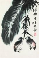 花鸟 立轴 设色纸本 - 139807 - 中国书画 - 2008太平洋迎春艺术品拍卖会 -收藏网