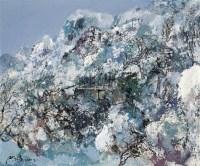 雪景 布面 油画 - 133228 - 名家西画 当代艺术专场 - 2008年秋季艺术品拍卖会 -收藏网