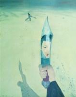 刀光剑影 布面 丙烯 - 9183 - 名家西画 当代艺术专场 - 2008年春季拍卖会 -收藏网
