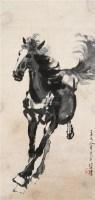 奔马 立轴 设色纸本 - 116101 - 中国书画 - 2011年迎春拍卖会 -中国收藏网